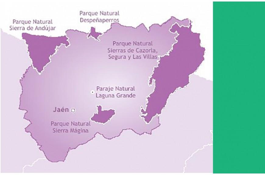 Viaje por los parques naturales de Jaén