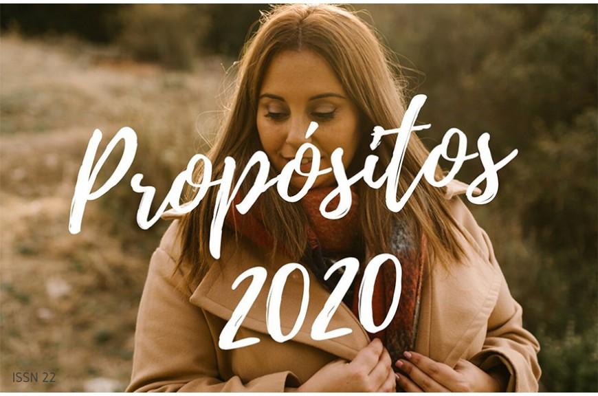 Ya estamos en Enero  y comienzan las listas de propósitos para este 2020.