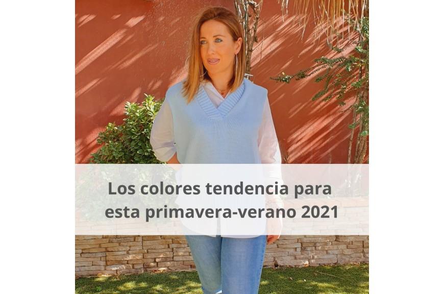 Los colores tendencia para esta primavera verano 2021